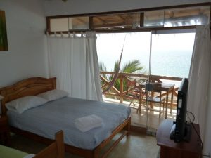 Hotel with sea view