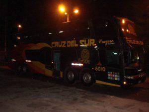 Safe public transport in Peru