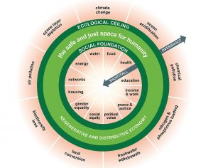 The sustainable Doughnut Economy
