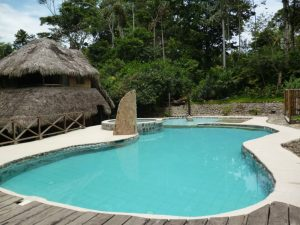 Eco lodge with swimming pool