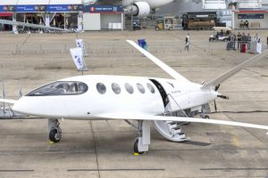 Full electric airplane Alice provides sustainable transport