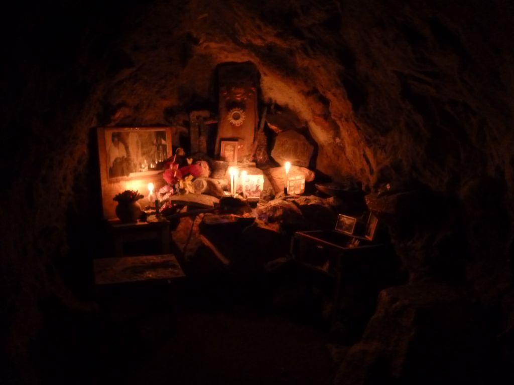 Shaman cave in Otavalo Ecuador
