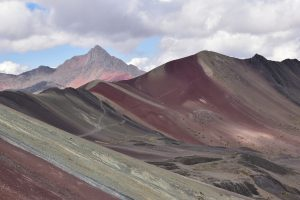 Real colors of Rainbow Mountains in Peru