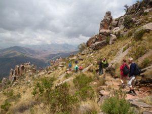 Hiking in Sucre Bolivia