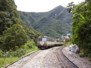 Travel by train to Machu Picchu