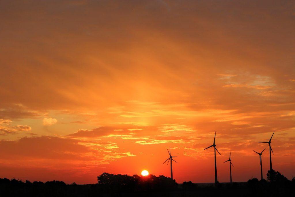 Windmills and solar power