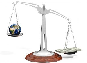 World economy in balance