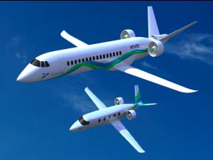 Zunum commercial electric plane