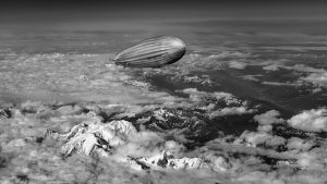 Graf Zepplin airship provided sustainable transport