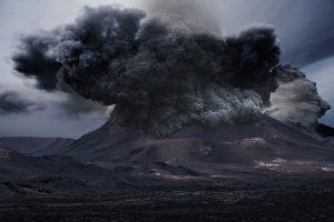 Volcanic CO2 activity