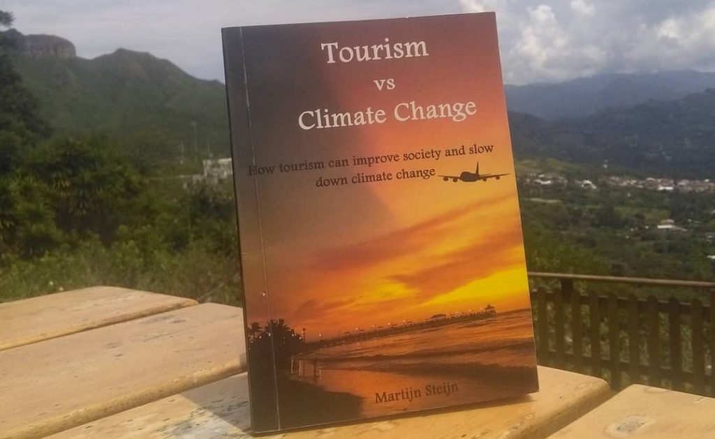 Sales of book about Tourism vs Climate Change