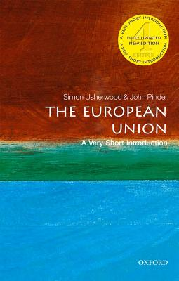 Book cover of The European Union: A Very Short Introduction (4th Revised edition) by John Pinder, Simon Usherwood