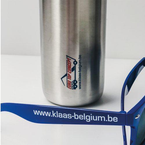 gepersonaliseerde gadgets Euro Top Concept - zonnebril en drinkbus
