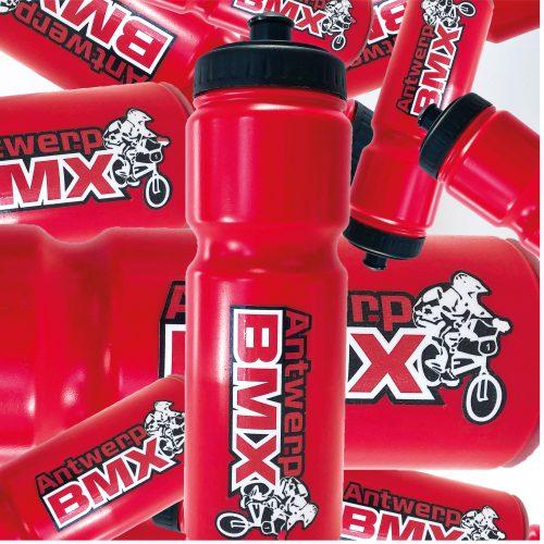 Gepersonaliseerde drinkbussen Antwerp BMX