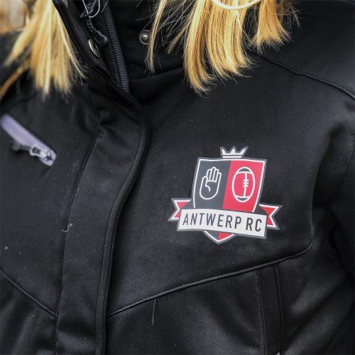 Gepersonaliseerde regenjassen Antwerp Rugby