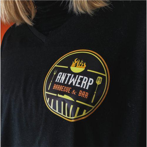 Gepersonaliseerde kleding Antwerp Grill