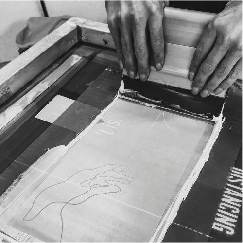 Gepersonaliseerde kleding zeefdrukken T-Press
