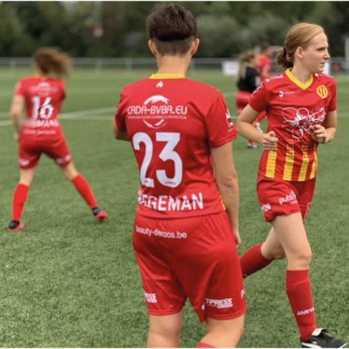 Sublimatie kleding Duffel Flames Damesvoetbal