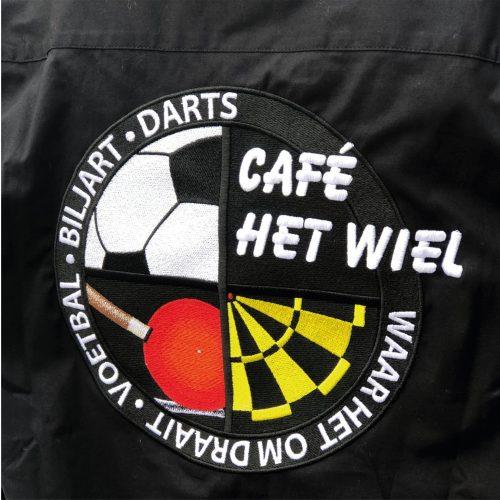 Geborduurde kleding Café Het Wiel Bornem - Darts