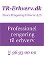 Toves Rengøring Erhverv A/S logo