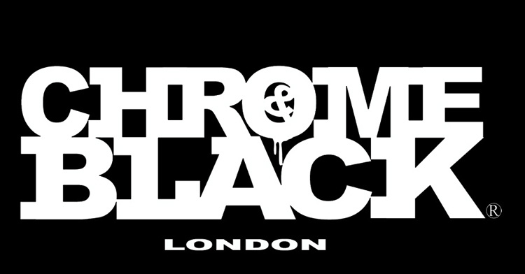 CHROME & BLACK LONDON logo