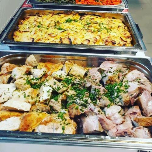 Traiteur Géraldine buffet chaud