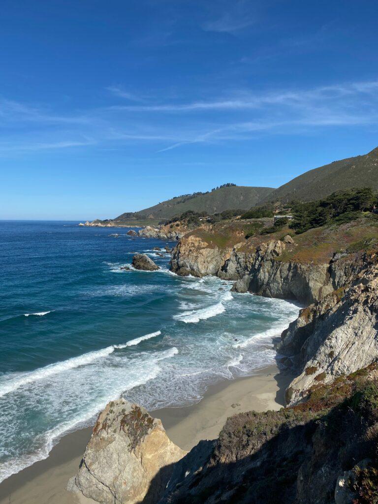oceanview langs highway one california