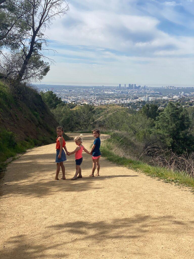 uitkijk vanaf hollywood hills over Los Angeles
