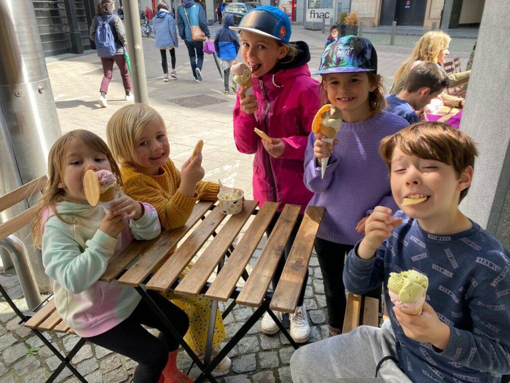 ijsjes eten Australian icecream Antwerpen
