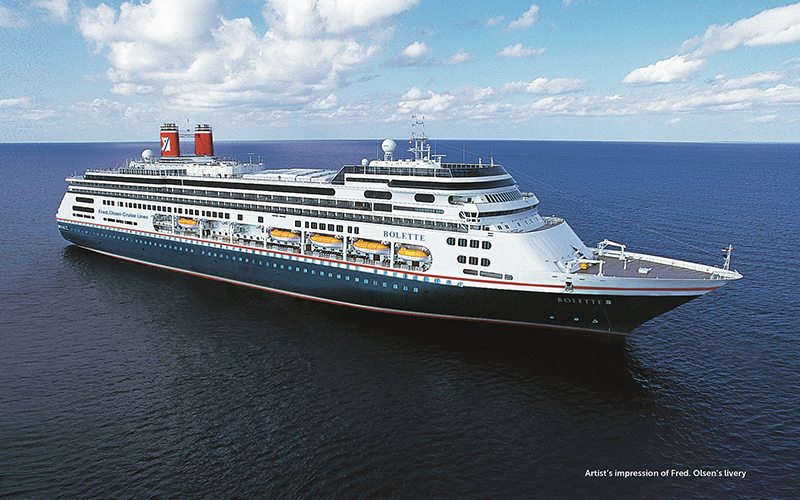 New 2022 sailings from Fred. Olsen Cruise Lines
