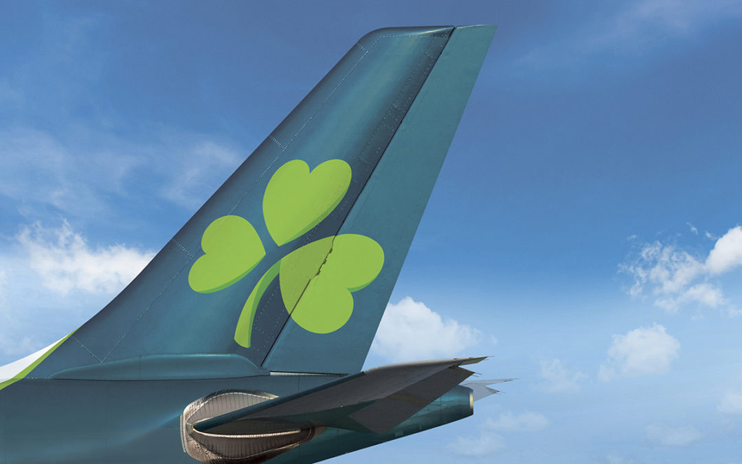 Edinburgh-Belfast City takes off