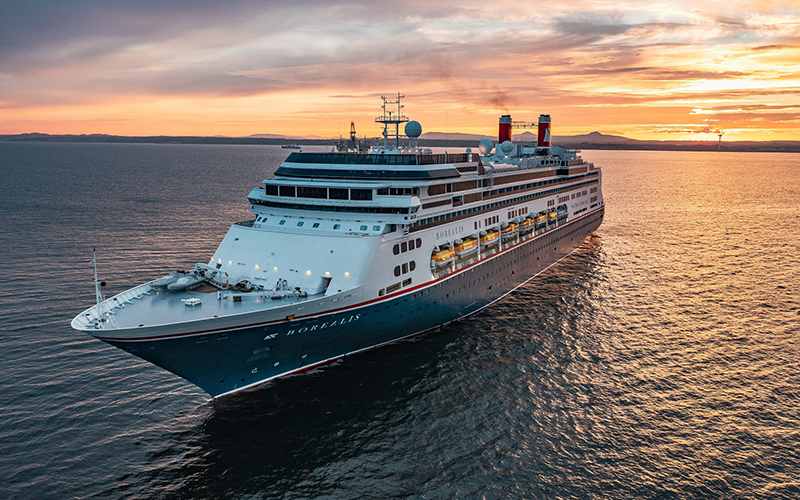 Fred. Olsen Cruise Lines resumes sailing