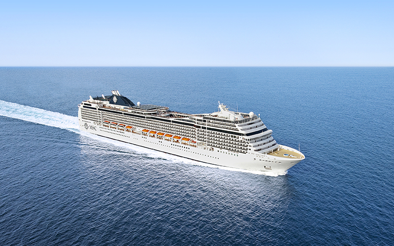 MSC Magnifica to offer winter cruising from Southampton