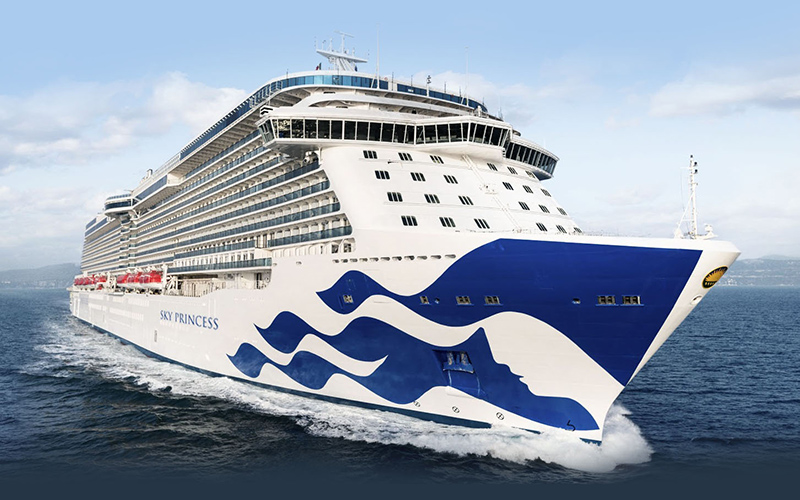 Early release for Princess Cruises' UK and Europe 2023 programme