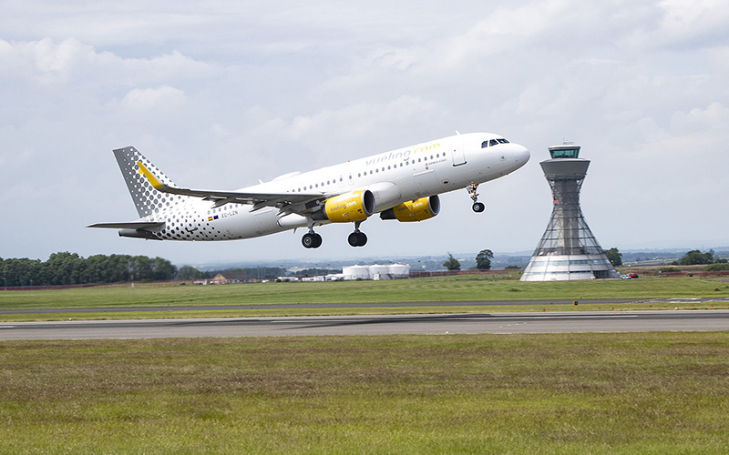 Barcelona flights take off from Newcastle Airport