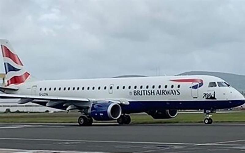 NEW BRITISH AIRWAYS SERVICES TO TAKE OFF FROM BELFAST CITY AIRPORT