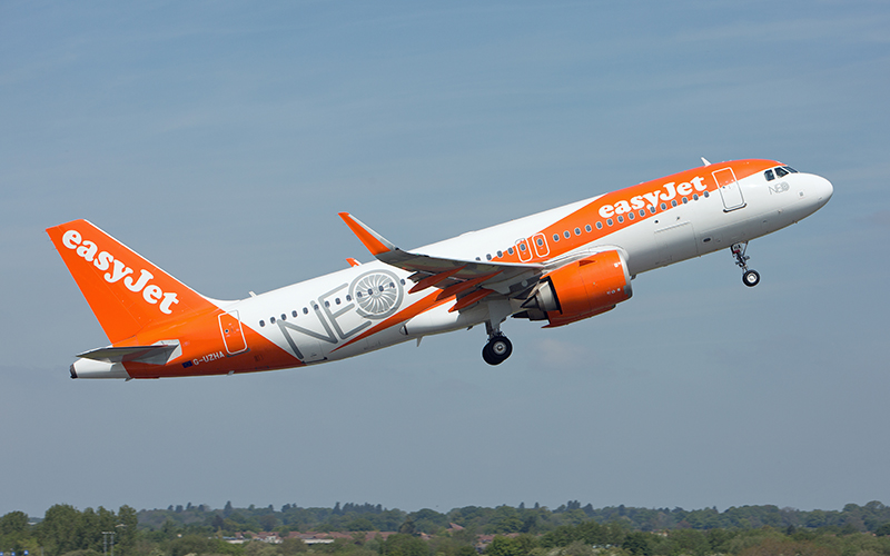 easyJet adds new domestic routes and more seats from Scotland