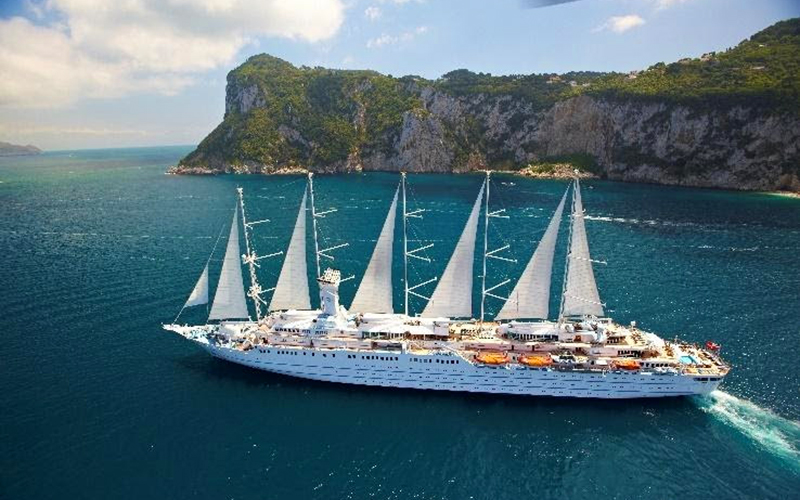 Windstar Cruises' Flagship Wind Surf Resumes Operations