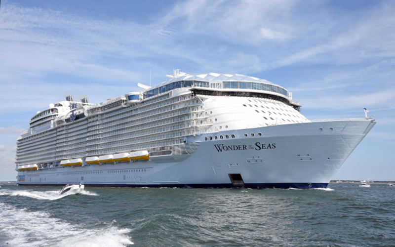 Wonder of the Seas to set sail in the Caribbean and Europe