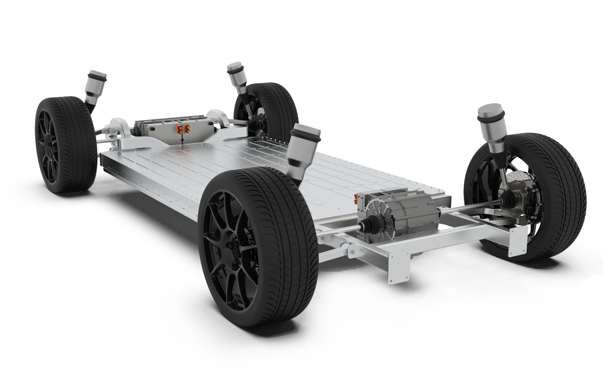 Traxial Chassis Electric Car
