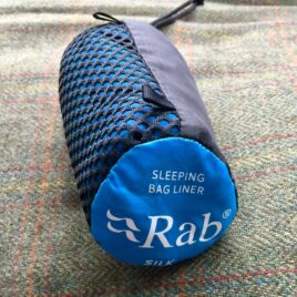 RAB mummy Silk Sleeping Bag Liner  – Assorted colours. Used. [Stock Available!]