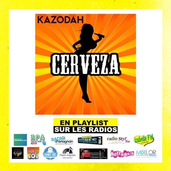 radio CERVEZA kazodah