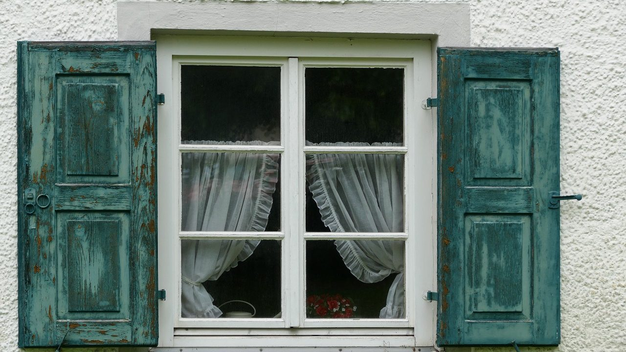 What can you do to make old wooden windows open more easily