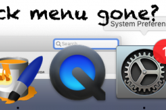 Is your menu bar gone?