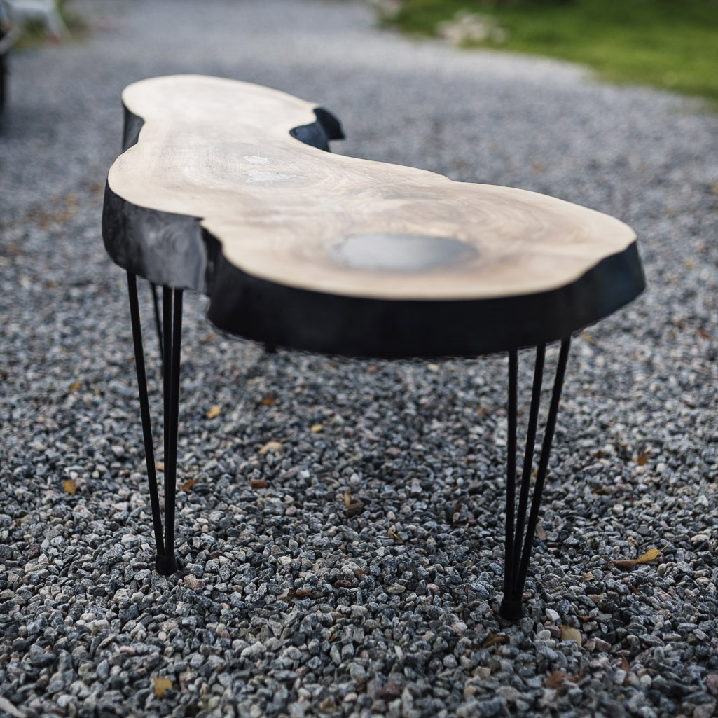 Coffee table in Ash #002