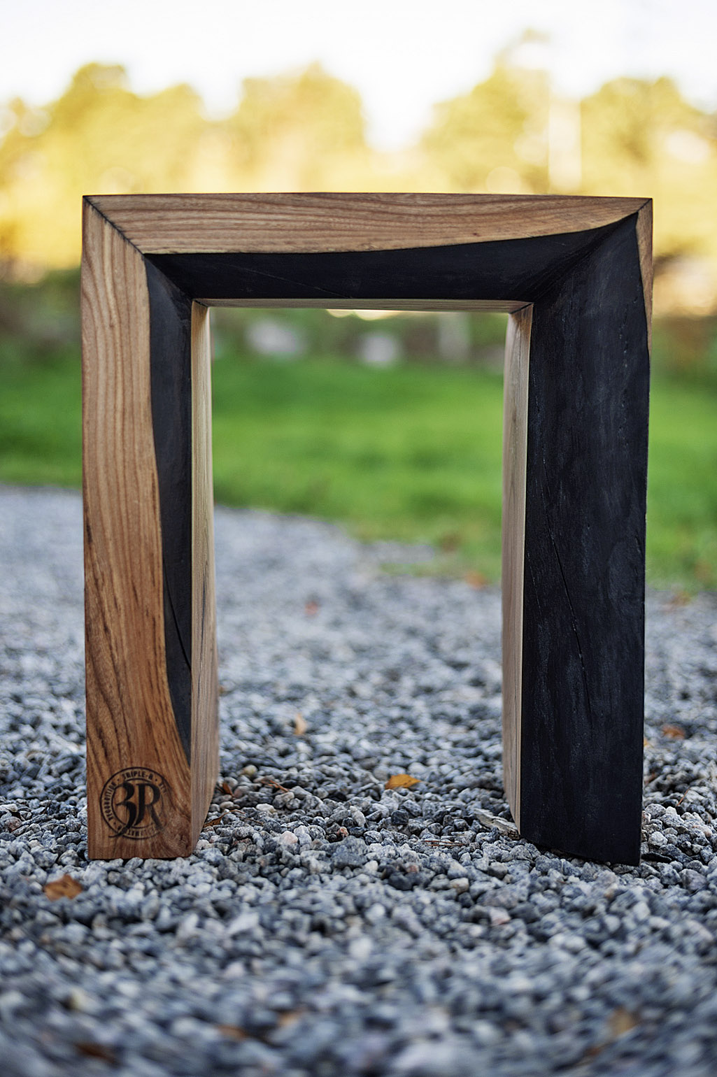 Small sofa table square #006