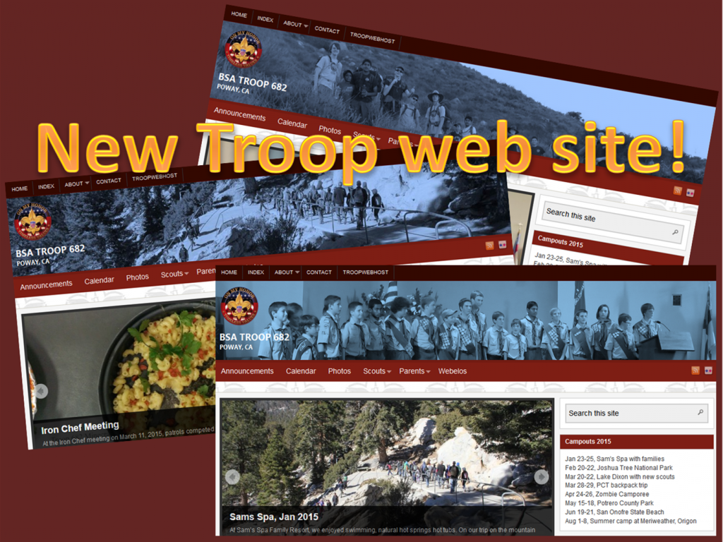 NewTroopWebSite