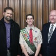 Troop 682, Please join me in congratulating Troop 682's newest Eagle Scout, Andrew B. His board of review was tonight, and he passed easily. Great job! Mr. Meloling