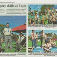 Troop, Be sure to save today's copy of the Poway News Chieftain and Rancho Bernardo News Journal. A great picture of Troop 682 building a raft at the Scout Expo is featured on page A4. Also, thank you to all of you who helped out at Expo! Mr Dickson
