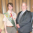 Troop, I am always proud when a 682 Scout earns Eagle; tonight I am proud as a father also! Please join me in congratulating Troop 682's newest Eagle Scout. Daniel Dickson had his Eagle Board of Review this evening and is now officially an Eagle.   Mr Dickson Links: See all Our Eagle Scouts